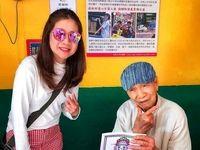 نجات یک روستا توسط پیرمرد 96 ساله +عکس
