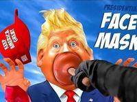 ماسک مخصوص ترامپ پیدا شد!