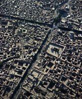 تصویر هوایی زیبا از شهر یزد