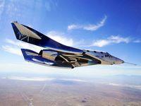 پرواز هواگرد توریستی «ویاساسیونیتی» به مرز فضا +عکس