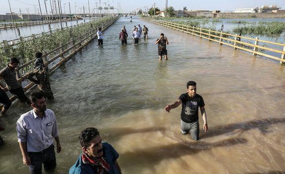 خوزستان تا نیمه اردیبهشت در معرض خطر قرار دارد