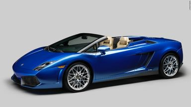 50 years of Lamborghini – Gallardo LP 550-2 Spyder (2012-present)