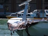 برخورد کشتی کروز 275 متری با اسکله +تصاویر