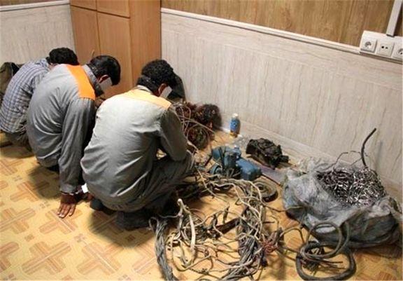 سیم دزدها تلفن سه هزار و 500 مشترک را قطع کردند