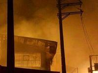 3سوله مبلسازی تهران درآتش سوخت