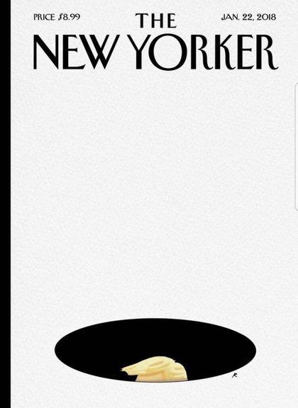 طرح جلد مجله نیویورکر در واکنش به توهین اخیر ترامپ+عکس