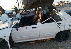 تصادف مرگبار در اتوبان قم-کاشان