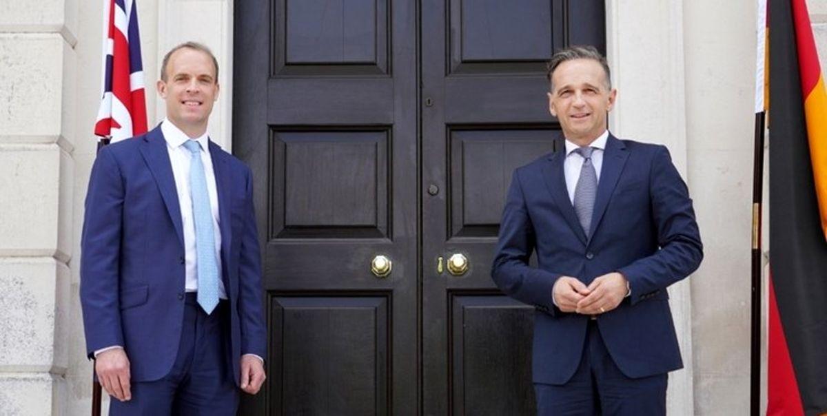 دیدار وزرای خارجه انگلیس و آلمان