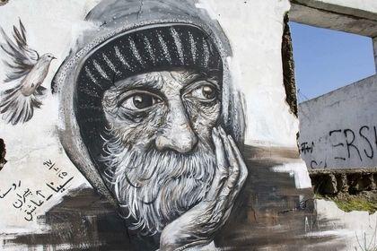 نقاشیهای دیواری خاص در روستاها +عکس