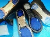 کشف ماده مخدر شیشه از داخل پاشنه کفش +عکس