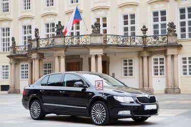 لیموزین Skoda Superb رئیس جمهور چک