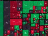 نقشه بازار سهام بر اساس ارزش معاملات/ شاخص هموزن راه خود را از شاخص کل جدا کرد