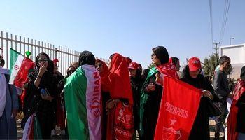 حضور پرشور زنان در آزادی +تصاویر