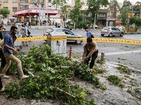 گزارش مصدومیت ناشی از طوفان تهران نداشتیم
