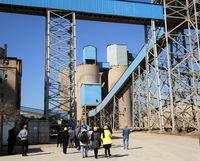 بازدید اصحاب رسانه از کارخانه سیمان آبیک +تصاویر