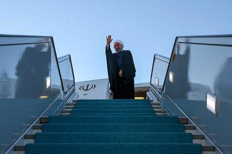 روحانی نیویورک را به مقصد تهران ترک کرد