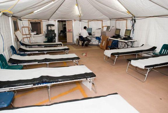 احداث بیمارستان صحرایی در لاکان رشت آغاز شد