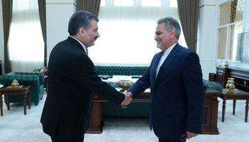 دیدار سفیر ایران با وزیر بهداشت ترکیه