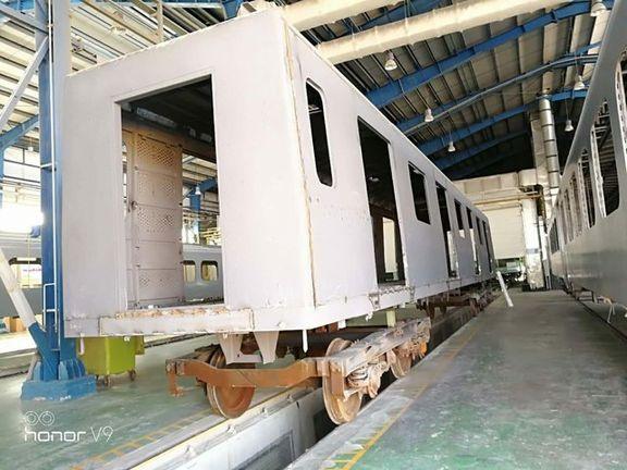 شرکت CRC چین سازنده نهایی ۶۳۰دستگاه واگن متروی تهران