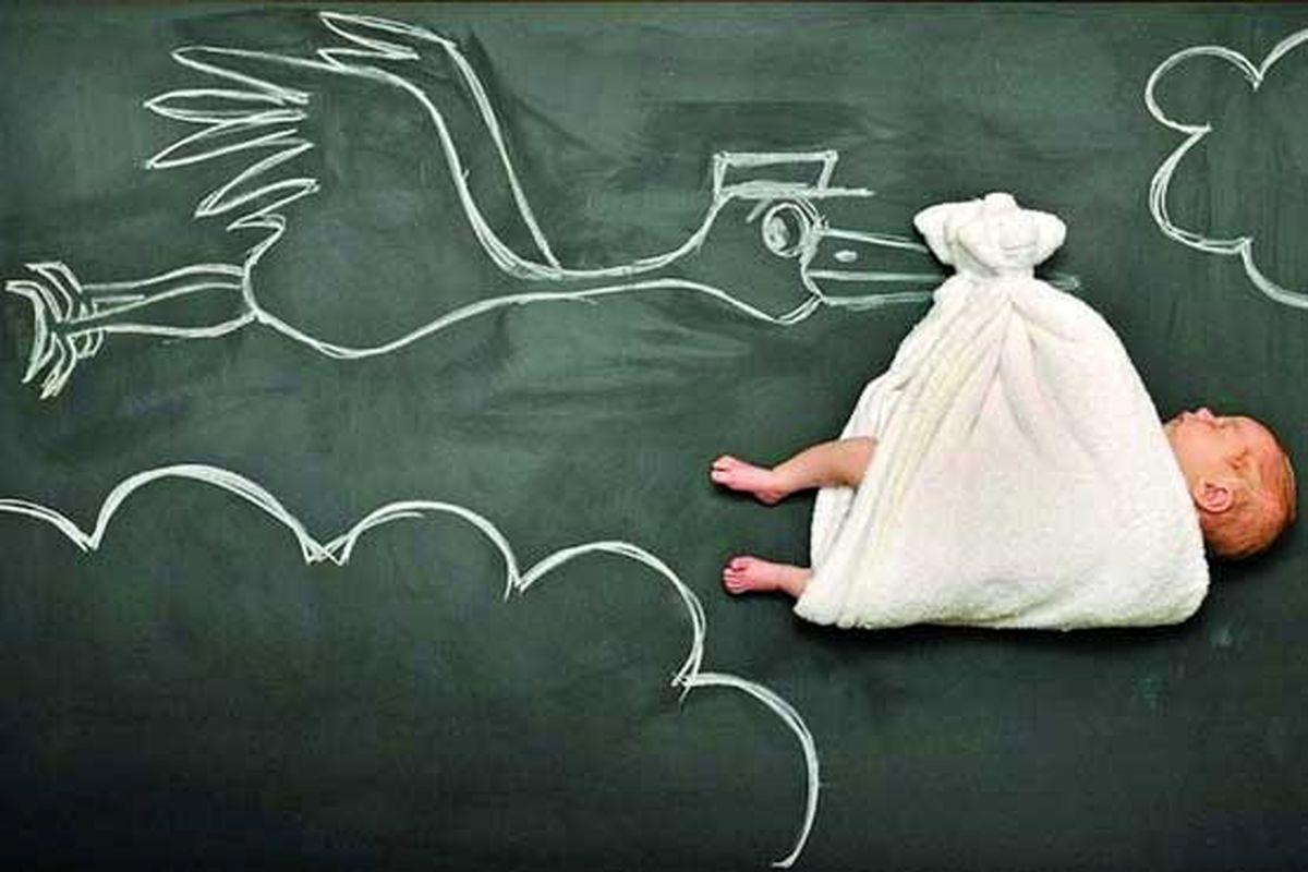 زنانی که برای دیگران بچه به دنیا میآورند!