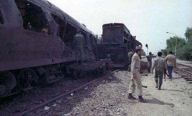 حمله رژیم بعثی عراق به قطار مسافربری