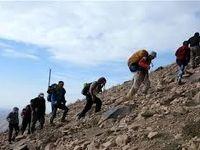 نجات 18کوهنورد گمشده در سبلان
