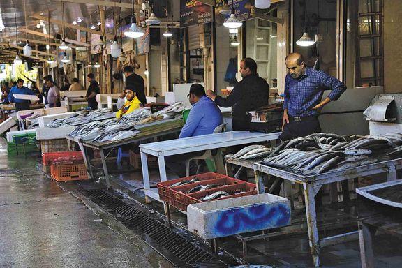 بازار ماهی فروشان گیلان در انتظار رونق