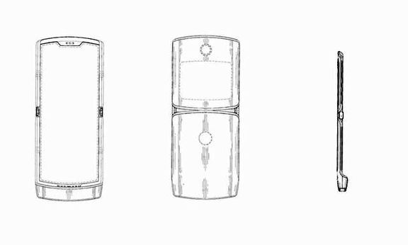 ثبت اختراع یک گوشی هوشمند با نمایشگر تاشو
