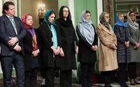 انتقاد از حجاب گذاشتن وزرای زن سوئدی در تهران  +عکس