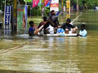 سیل مرگبار در هندوستان +تصاویر