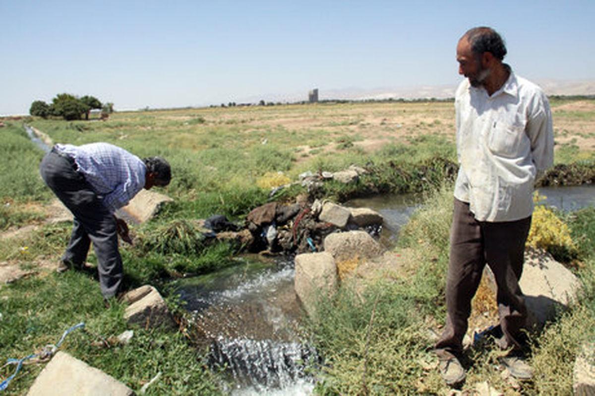 ضرورت کاهش ۴۰ درصدی مصرف آب کشاورزی