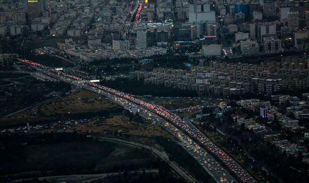 ترافیک تهران در آخرین روزهای سال