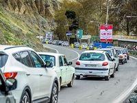 ترافیک در آزادراه قزوین_کرج سنگین است