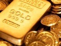 کاهش قیمت جهانی طلا به کمترین رقم دو هفته گذشته