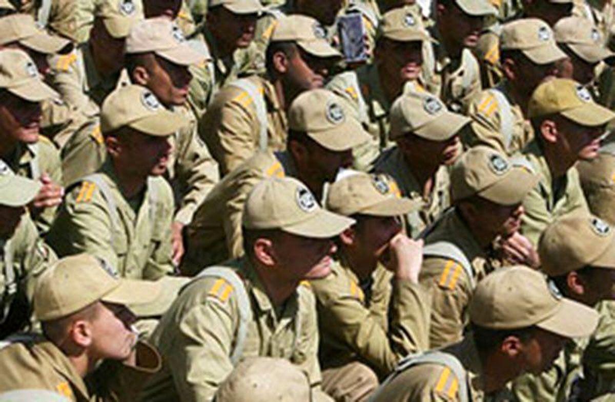 بهرهمندی ۳۵۰۰سرباز از کسری خدمت ۱۲روزه تاکنون