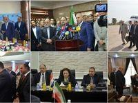 دیدار وزیر صنعت ایران با سه وزیر عراقی