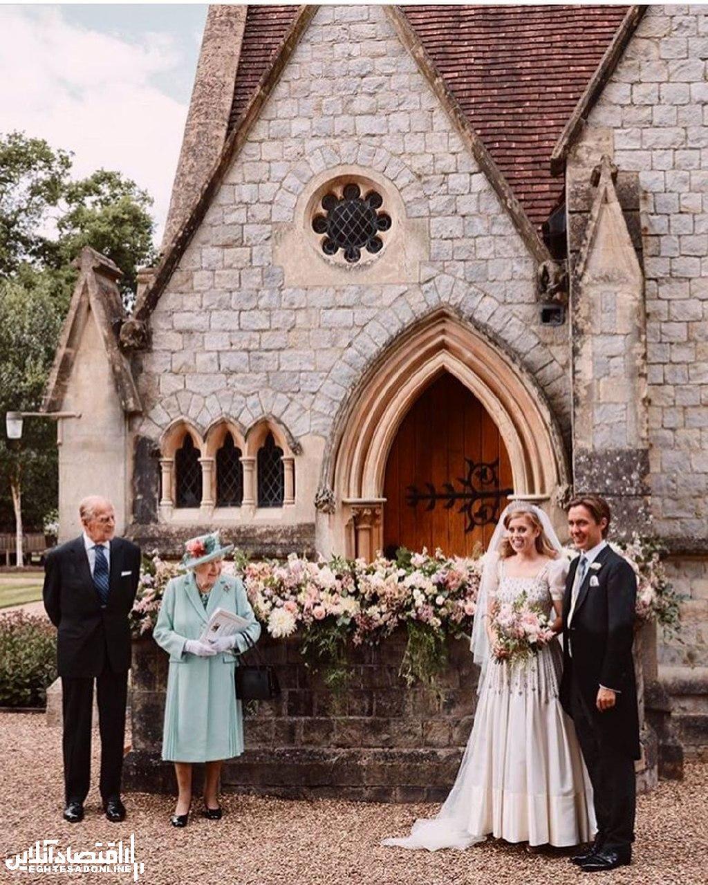 عروسی پرنسس بئاتریس مراسم ازدواج پرنسس بئاتریس