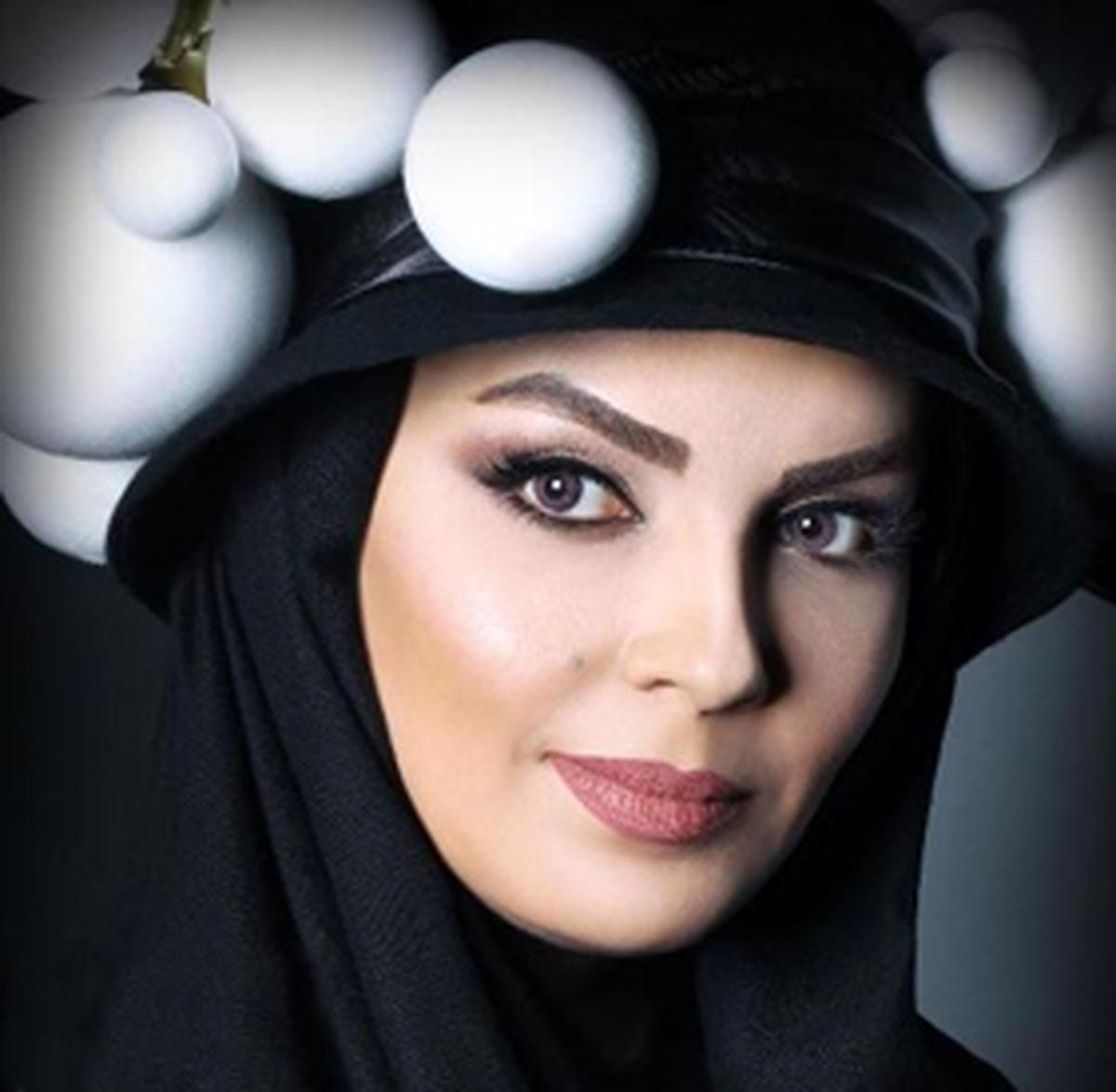 سارا خوئینیها با کلاه کاسکت +عکس