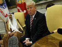 ستایش ترامپ از اقدامات امیر کویت