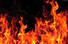 آتش سوزی مینی بوس تبعه عراقی در کلاردشت