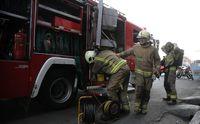 مصدومیت دو غواص آتشنشانی اهواز