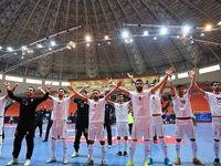 صعود تیم ملی فوتسال ایران