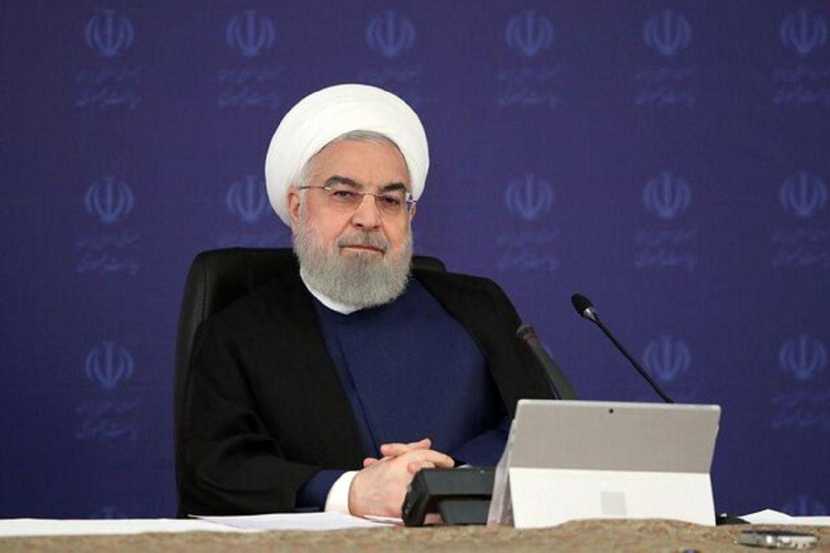 روحانی: اقتصاد کشور تحت مدیریت قرار دارد/ پیریزی اقتصاد بدون نفت