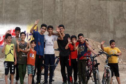 تابستان کودکان پایین شهر +عکس
