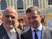 دیدار سفیر ایران با رییسجمهور اوکراین