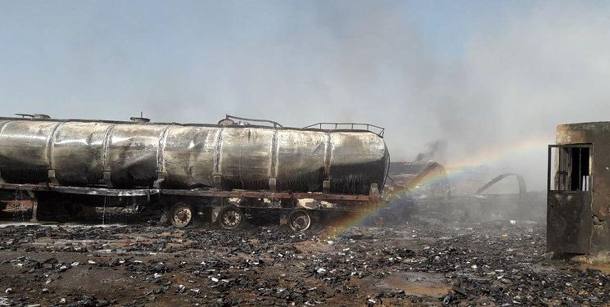 جزئیات انفجار مخازن گازوئیل در مرز ایران و افغانستان