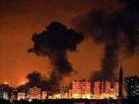 پاسخ کوبنده مقاومت غزه به حملات هوایی رژیم صهیونیستی