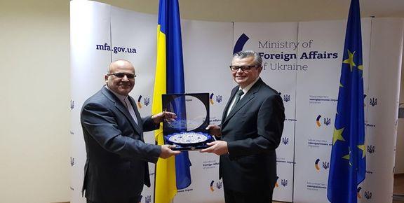 دیدار سفیر ایران با مدیرکل کنسولی وزارت خارجه اوکراین