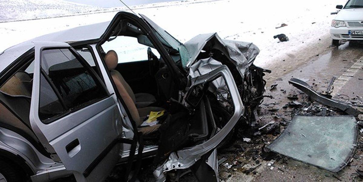 ۵فوتی و مصدوم در حادثه رانندگی پراید با پژو