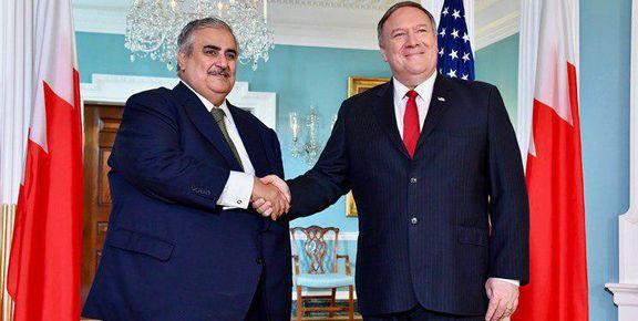 رایزنی ضد ایرانی وزرای خارجه آمریکا و بحرین در واشنگتن